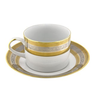 Elegance Can Cup/ Saucer (Set of 6)