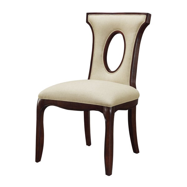 Shop Blakemore Espresso Side Chair Free Shipping Today