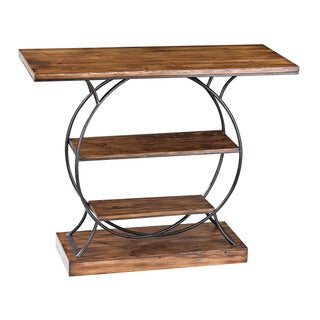 Leominster Wood and Metal Console Table