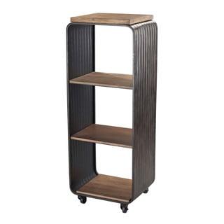 Maltapan Wood and Metal Shelves