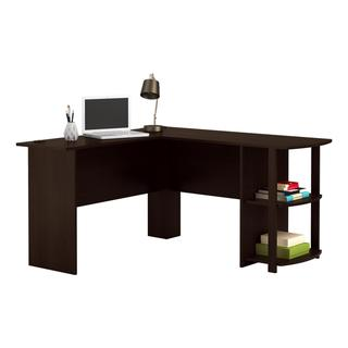 Altra Dakota L-Shaped Desk with Bookshelves