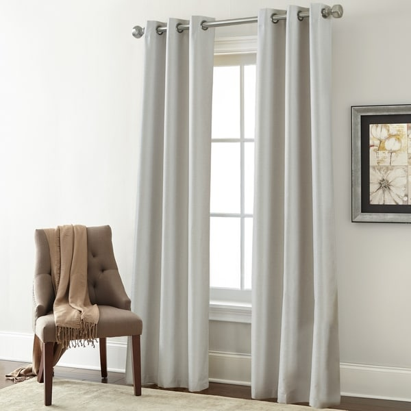 Modern Threads Textured Blackout Curtain Panel Pair - 37 x 84 - 37 x 84. Opens flyout.