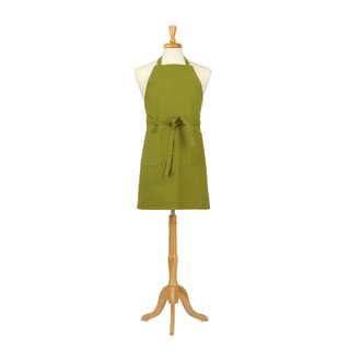 Verde Lime Solid Canvas Butcher Apron