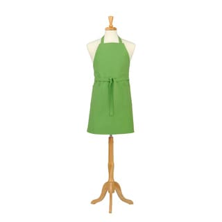 Two Pocket Garden Green Cotton Canvas Chef's Apron