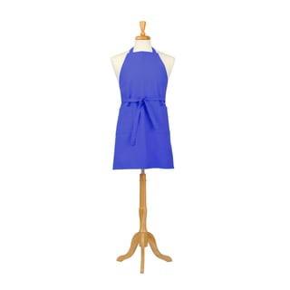Azul Rey Solid Canvas Butcher Apron
