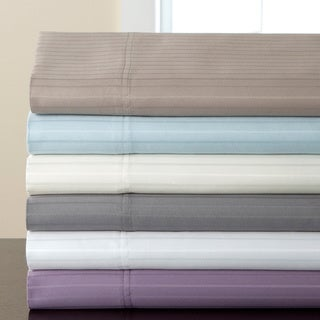 800 Thread Count Valencia Stripe Cotton Rich 6-piece Sheet Set