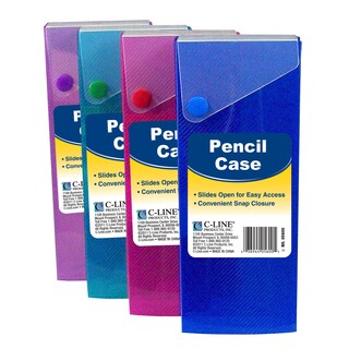 C-Line Products Slider Pencil Case (Set of 24)