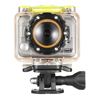 Coleman Bravo CX10WP 1080p HD Action Camera with Mounts/ Waterproof Housing/ 8GB MicroSD Card