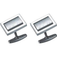 Visol Elan Stainless Steel Cufflinks