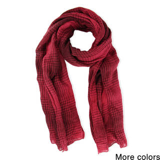 Saachi Unisex Comfy Plaid Scarf (China)