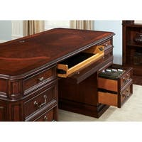 Brayton Manor Cognac Jr. Executive Desk