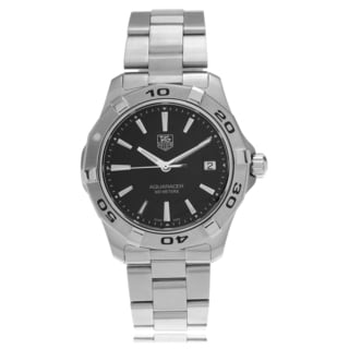 Tag Heuer Men's Stainless Steel WAP1110.BA0831 'Aquaracer' Link Watch