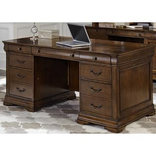 Cau Valley Brown Cherry Jr Executive Desk