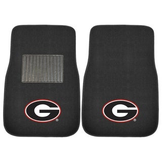 Link to FANMATS University of Georgia 2-pc Embroidered Car Mat Similar Items in Fan Shop