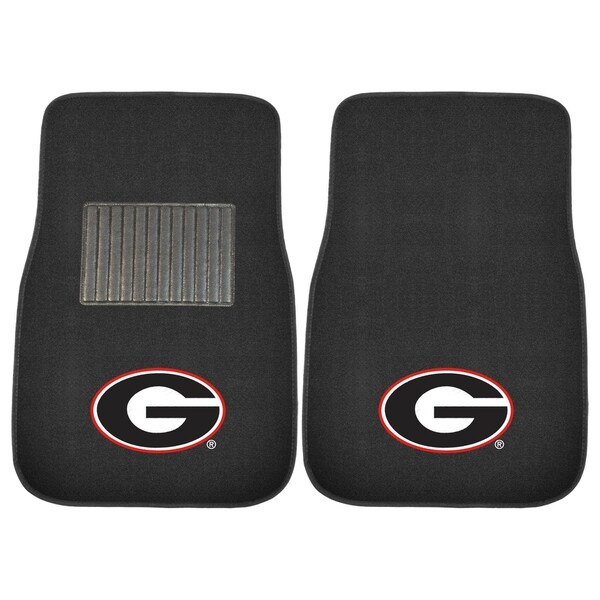 FANMATS University of Georgia 2-pc Embroidered Car Mat. Opens flyout.