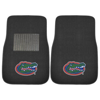"Fanmats Florida Gators 18""-27"" 2-piece Embroidered Car Mat Set"