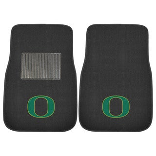 "Fanmats Oregon Ducks 18""-27"" 2-piece Embroidered Car Mat Set"