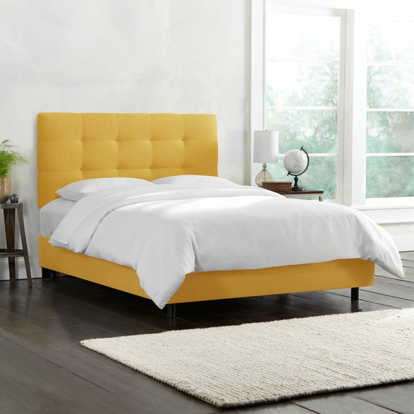 Tufted Bed Skyline Furniture Free Shipping Today
