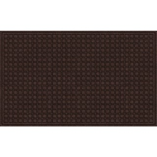 Textured Blocks Walnut Door Mat - 18 x 30