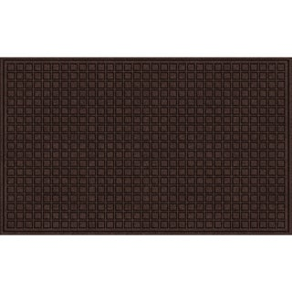 Textured Blocks Walnut Door Mat (2 options available)
