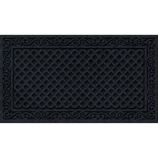 Textured Iron Lattice Onyx Door Mat|https://ak1.ostkcdn.com/images/products/10669956/P17734639.jpg?impolicy=medium