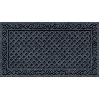 Textured Iron Lattice Smoke Door Mat|https://ak1.ostkcdn.com/images/products/10669957/P17734640.jpg?impolicy=medium