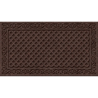 Link to Textured Iron Lattice Walnut Door Mat Similar Items in Decorative Accessories