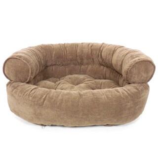 Orthopedic Franklin Textured Comfy Sofa Pet Bed