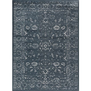 Teal and Beige Traditional Persian Orieltal Area Rug (7'10 x 9'10)