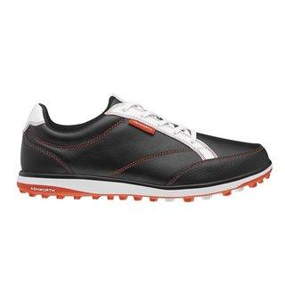 Ashworth Women's Cardiff ADC Black/Dark Orange/White Golf Shoes