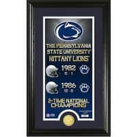 "Penn State University ""Legacy"" Bronze Coin Panoramic Photo Mint"
