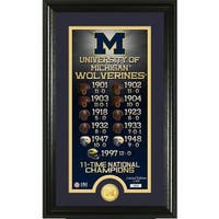 "University of Michigan ""Legacy"" Bronze Coin Panoramic Photo Mint"