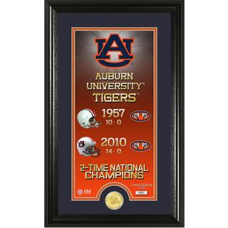 "Auburn University ""Legacy"" Bronze Coin Panoramic Photo Mint"