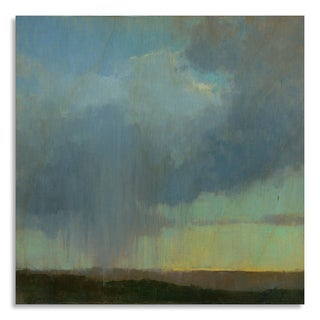 Gallery Direct Print by Kim Coulter 'Cloudburst' on Birchwood Wall Art