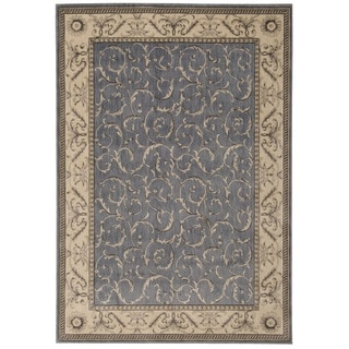 Nourison Somerset Light Blue Rug (7'9 x 10'10)