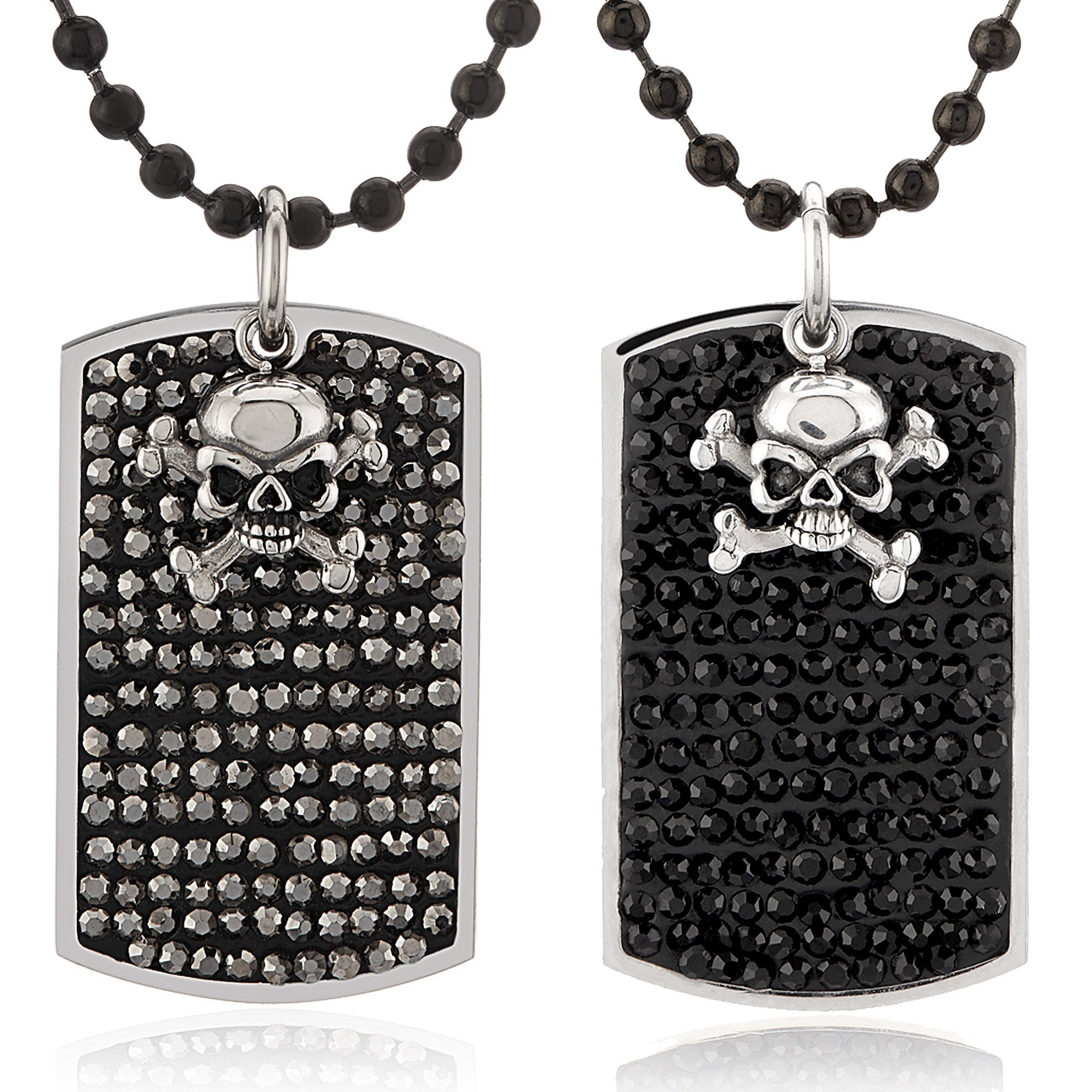 in hip box necklaces tag jewelry pendant men chain from necklace alloy punk skull antique fashion hop dog new item with