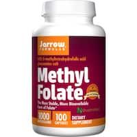 Jarrow Formulas Methyl Folate 1000 mcg (100 Capsules)