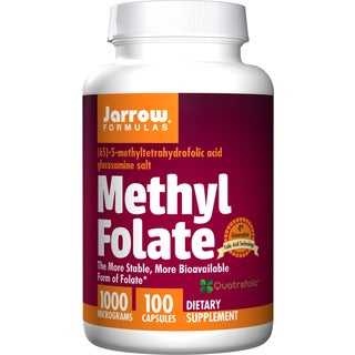 Jarrow Formulas Methyl Folate 1000 mcg (100 Capsules)