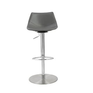 Rudy Grey/ Stainless Steel Bar/ Counter Stool