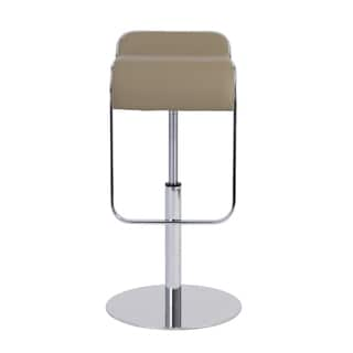 Freddy Taupe/ Chrome Bar/ Counter Stool