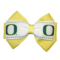 University of Oregon NCAA Officially Licensed Hair Bow Clip