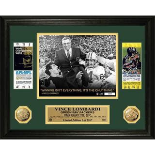 Vince Lombardi Super Bowl Ticket Gold Coin Photo Mint|https://ak1.ostkcdn.com/images/products/10670406/P17735064.jpg?impolicy=medium