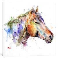 iCanvas Horse by Dean Crouser Canvas Print