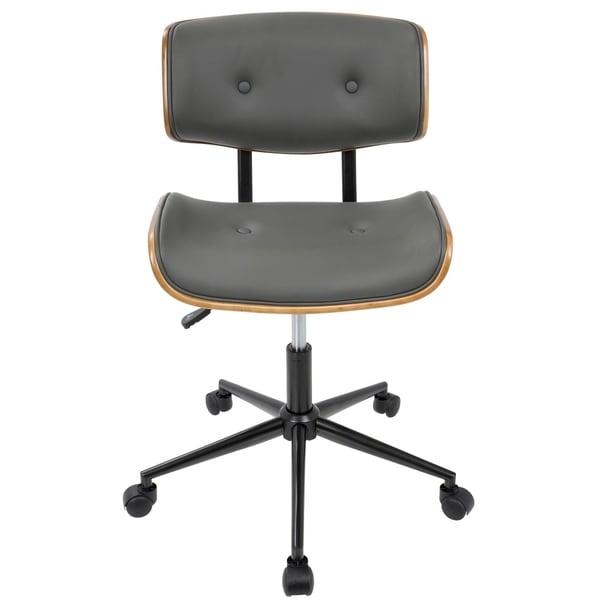 Lombardi Mid Century Modern Office ChairLombardi Mid Century Modern Office Chair   Free Shipping Today  . Mid Century Modern Chairs Overstock. Home Design Ideas