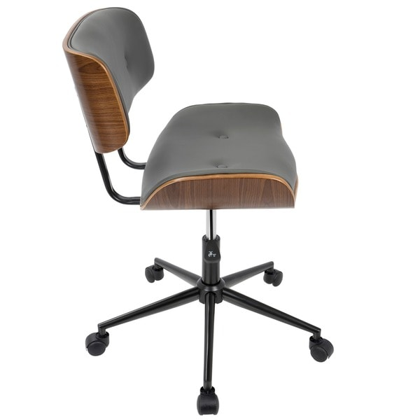 lombardi midcentury modern office chair free shipping today