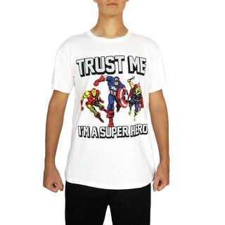 Marvel Men's Trust Me I'm a Superhero T-Shirt