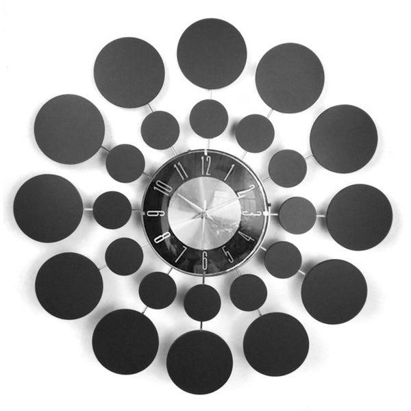 Mid Century Modern Wooden 20-inch Starburst Clock