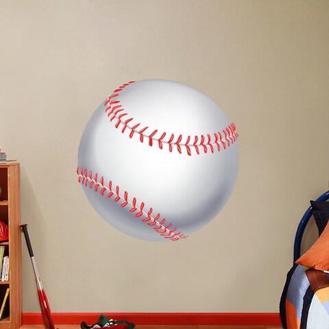 Printed Baseball Wall Decal