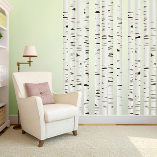 Link to Printed Set of Birch Trees Wall Decals Similar Items in Vinyl Wall Art