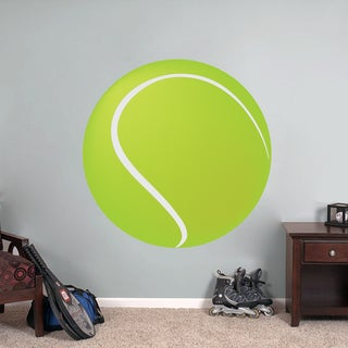 Printed Tennis Ball Wall Decal
